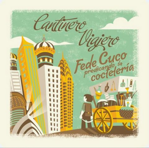 "PING-PONG VIAJERO. ""Fede Cuco, cantinero viajero. """